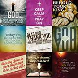 Fully explained here , these images are Christian Inspiration images ...