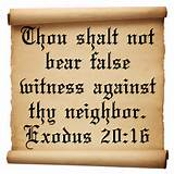 famous short motivational bible quotes commandment Exodus 20:16