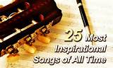 ... , can we have a post for list of most inspiring songs? – Rajesh G