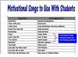 Motivational Songs to Use with Students & In the Classroom