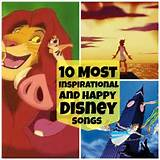 10 Most Happy, Inspirational and Best Disney Songs (with Video)
