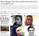 Jobs After Graduation: featured in The Independent as an inspirational ...
