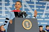President Barack Obama: The Ohio State University, Morehouse ...