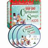Top 100 Christmas Songs for Kids (Audio CD)
