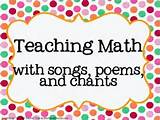 Maths for kids - #Teaching Math With #Songs and ... | School St ...