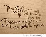 ... true love is not easy - love courage quotes | My Quotes Home - Quotes