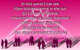 Song Lyric Quotes In Text Image: One True Love - Semisonic Song Quote ...