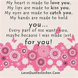 Love Quotes for Her | Romantic Sayings Poems Love Letters for her him