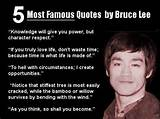 Most Famous Quotes By Bruce Lee Inspirational Quotes Of Life