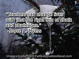... change lives with just the right mix of chalk and challenges. (quote