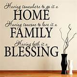 home_family_blessing_wall_quotes #mashable | great quotes, etc.