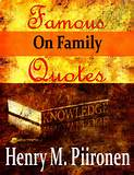 iTunes - Books - Famous Quotes on Family by Henry M. Piironen