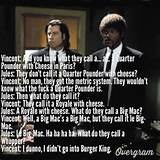 Pulp Fiction | Famous Movie Quotes