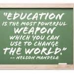 happy quote about education