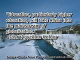 Education, particularly higher education, will take Africa into the ...