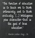 Great words re: education by Dr. King. Quote ... | Art & Quotes