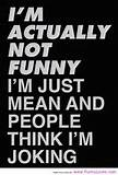 actually not funny funny quotes about life - Funny Loves Fun World