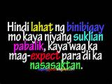 tagalog quotes - wag magexpect-Tagalog Quotes