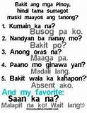 Funny Replies Quotes - Pinoy Funny Jokes Images - Pinoy Trend