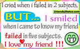 Funny exam quotes when i failed in two subjects
