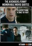 NEWS ON THE DOT: THE AVENGERS (2012): Funny and Memorable Quotes